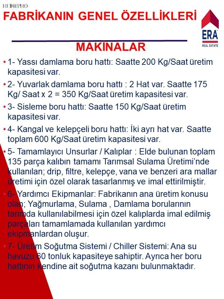 Manufacturing Facility FOR SALE Türkiye Antalya DÖŞEME ALTI Real Estate Agents $37400008