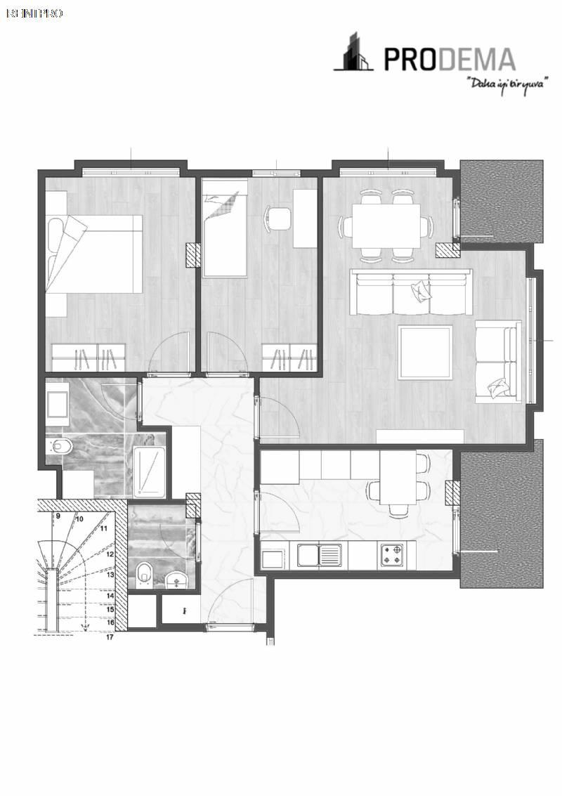 Flat FOR SALE Türkiye Istanbul Bahçelievler Property Owner $16000020