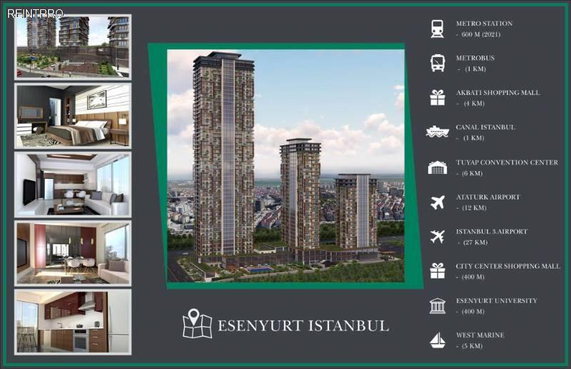 квартира  ПРОДАЖА Türkiye  Istanbul
