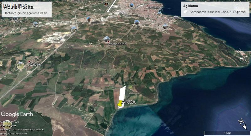Lands FOR SALE Türkiye Çanakkale Karacaören Real Estate Agents $34800003